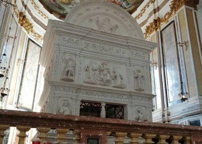 St. Bernardino Tomb, l'Aquila, Italy